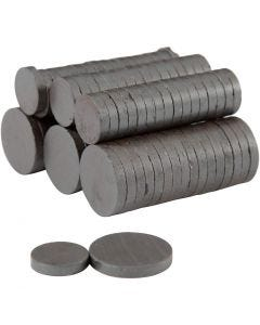 Magneti, diam: 14+20 mm, spess. 3 mm, 2x250 pz/ 1 conf.
