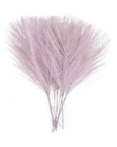 Piume artificiali, L: 15 cm, L: 8 cm, viola, 10 pz/ 1 conf.