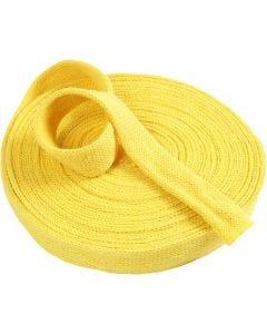 Tubolare di maglia, L: 30 mm, giallo, 1 m/ 1 conf.