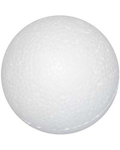 Sfere di polistirolo, diam: 3 cm, bianco, 100 pz/ 1 conf.