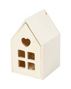 Casa con Cassetto, H: 10,8 cm, P 6,8 cm, 1 pz