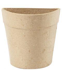 Vaso da muro, H: 10 cm, 1 pz