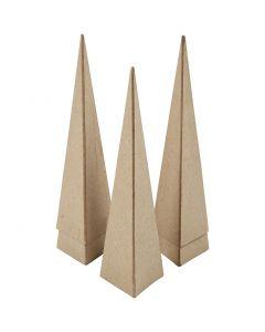 Coni, H: 20 cm, misura 6x6x6 cm, 5 pz/ 1 conf.