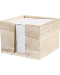 Porta carte, misura 9,5x9,5x7 cm, 1 pz