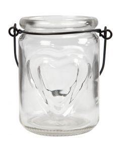 Lanterna, H: 9,5 cm, diam: 6,5 cm, 2 pz/ 1 conf.