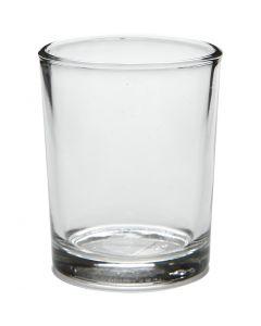 Tealight portalumino, H: 6,5 cm, diam: 4,5 cm, 4 pz/ 1 conf.