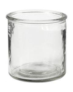 Tealight portacandela, H: 7,8 cm, 6 pz/ 1 scat.