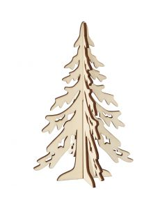 Albero di Natale, H: 20 cm, L: 13 cm, 1 pz