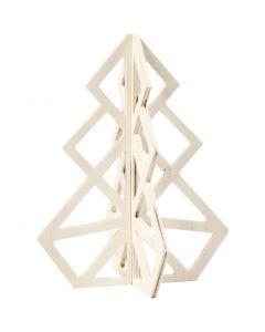 Albero di Natale, H: 20 cm, L: 16 cm, 1 pz