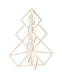 Albero di Natale, H: 60 cm, L: 48 cm, 1 pz