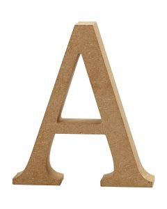 Lettera, A, H: 8 cm, spess. 1,5 cm, 1 pz