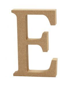 Lettera, E, H: 8 cm, spess. 1,5 cm, 1 pz