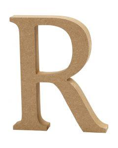 Lettera, R, H: 8 cm, spess. 1,5 cm, 1 pz