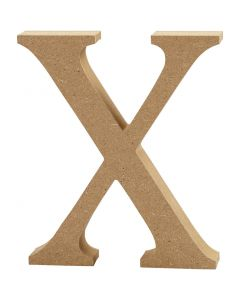 Lettera, X, H: 8 cm, spess. 1,5 cm, 1 pz