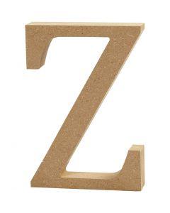 Lettera, Z, H: 8 cm, spess. 1,5 cm, 1 pz