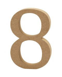 Numero, 8, spess. 1,5 cm, 1 pz