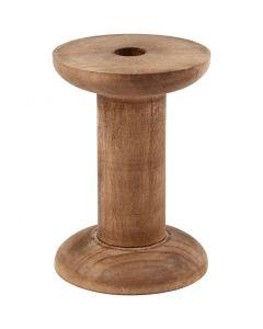 Rocchetto, H: 70 mm, diam: 20+48 mm, misura buco 10 mm, 10 pz/ 1 conf.