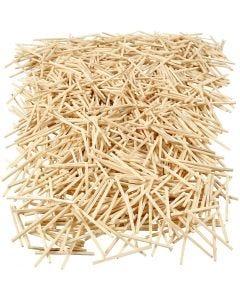 Bastoncini a fiammifero, L: 48 mm, diam: 2 mm, 100 g/ 1 conf., 850 pz