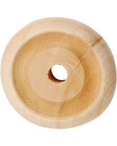 Ruota, diam: 24x8 mm, 8 pz/ 1 conf.