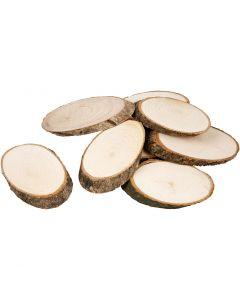 Fette di legno, spess. 8 mm, 20 pz/ 1 conf.