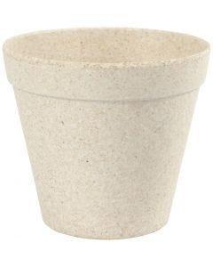 Vaso da fiori, H: 10 cm, diam: 11 cm, 1 pz