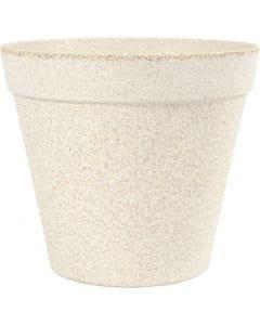 Vaso da fiori, H: 13,5 cm, diam: 15,2 cm, 1 pz