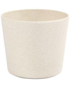 Vaso per fiori, H: 6,5 cm, diam: 7 cm, 1 pz