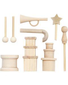 Piccoli accessori, L: 2-5,5 cm, 1 conf.