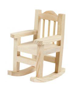 Sedia a dondolo, H: 8,8 cm, L: 5,5 cm, 1 pz