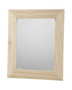Cornice con specchio, misura 26x32 cm, 1 pz