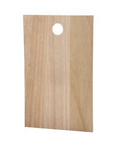 Lastra di legno, misura 35x22 cm, spess. 13 mm, 1 pz
