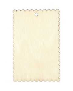 Cartello, misura 8x5,2 cm, spess. 3 mm, 8 pz/ 1 conf.