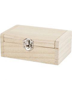 Scatola per gioielli, H: 4.5 cm, L: 11.5 cm, L: 7,5 cm, 1 pz