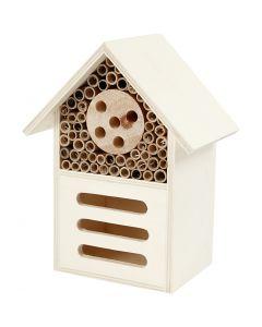 Hotel per insetti e farfalle, H: 18 cm, L: 14 cm, 1 pz