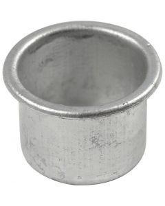 Portacandela, H: 18 mm, diam: 25 mm, misura buco 22 mm, 12 pz/ 1 conf.