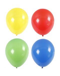 Palloncini grandi, giganti, diam: 41 cm, blu, verde, rosso, giallo, 4 pz/ 1 conf.