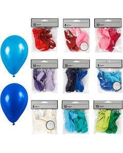 Palloncini, colori asst., 30 conf./ 1 conf.