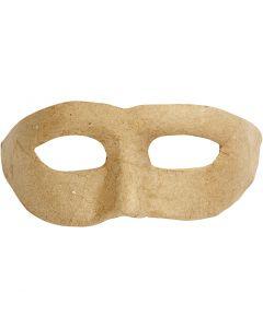 Maschera di Zorro, H: 8 cm, L: 21 cm, 1 pz