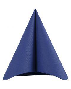Tovaglioli, misura 40x40 cm, 60 g, blu scuro, 20 pz/ 1 conf.