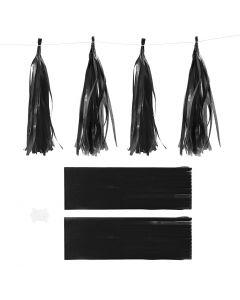 Nappe in carta , misura 12x35 cm, 14 g, nero, 12 pz/ 1 conf.