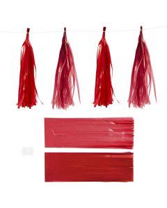 Nappe in carta , misura 12x35 cm, 14 g, porpora/rosso, 12 pz/ 1 conf.