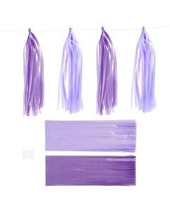 Nappe in carta , misura 12x35 cm, 14 g, lilla scuro/ lilla chiaro, 12 pz/ 1 conf.