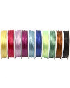 Cordino elastico per gioielli, spess. 1 mm, 10x25 m/ 1 conf.