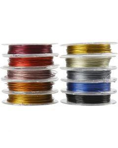 Filo per gioielli, spess. 0,38 mm, 10x10 m/ 1 conf.