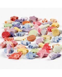 Mix pastello, misura 9-12 mm, misura buco 1,2 mm, 175 ml/ 1 conf., 110 g