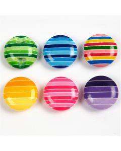 Bottoni decorativi, diam: 14 mm, 24 pz/ 1 conf.