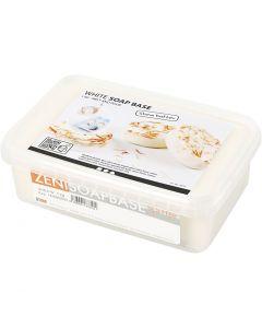 Base per sapone al burro di karitè, bianco, 1 kg