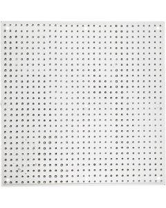 Pannello forato, misura 14,5x14,5 cm, 10 pz/ 1 conf.