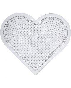 Pannello forato, H: 15 cm, transparent, 1 pz
