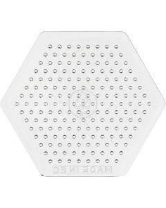 Pannello forato, H: 7,5 cm, transparent, 1 pz